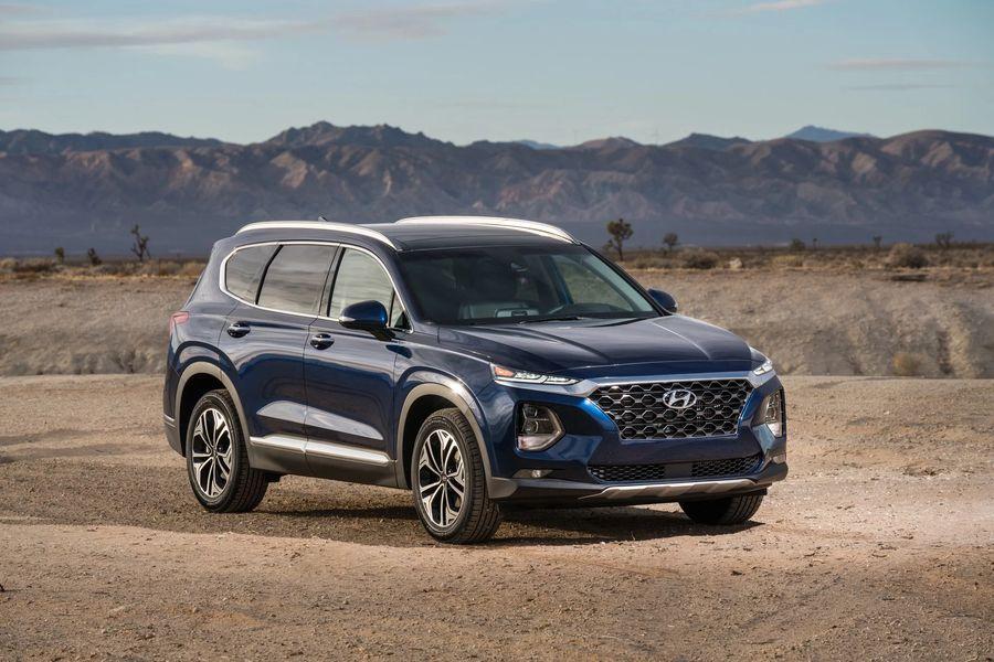 Hyundai Santa Fe 2019 giá chỉ 580 triệu VNĐ