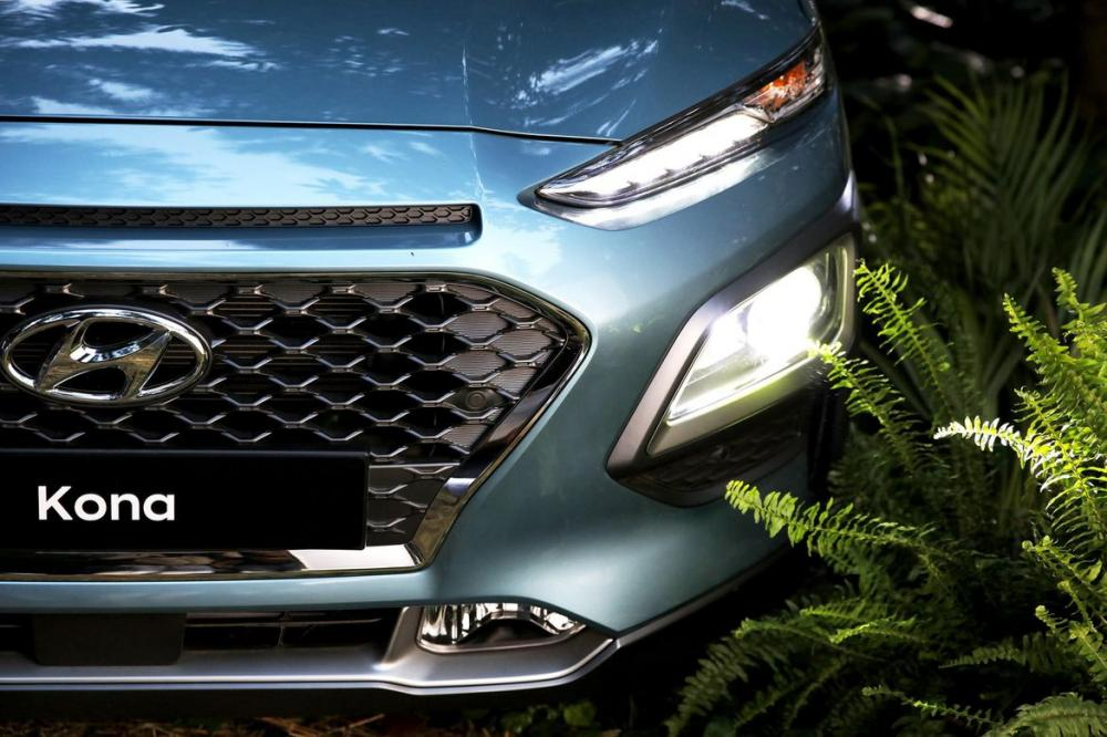 Hình Ảnh Hyundai Kona - Gầm Cao, Máy Thoáng Và Mạnh Mẽ 7