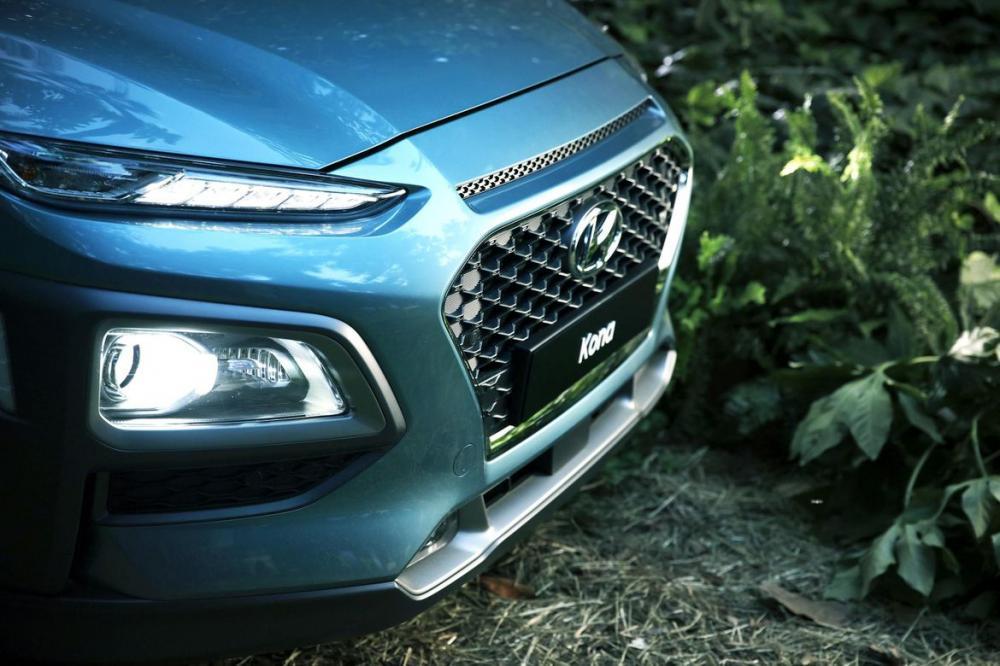 Hình Ảnh Hyundai Kona - Gầm Cao, Máy Thoáng Và Mạnh Mẽ 6