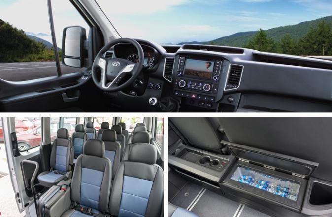 Hình Ảnh Hyundai Solati 16 Chỗ Có Gì Để So Sánh Với Ford Transit 2