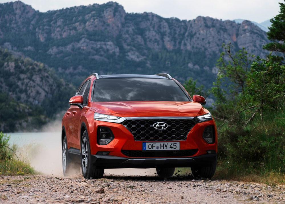 Hình Ảnh Hyundai SantaFe 2019 Đã Cho Phép Đặt Cọc! 1