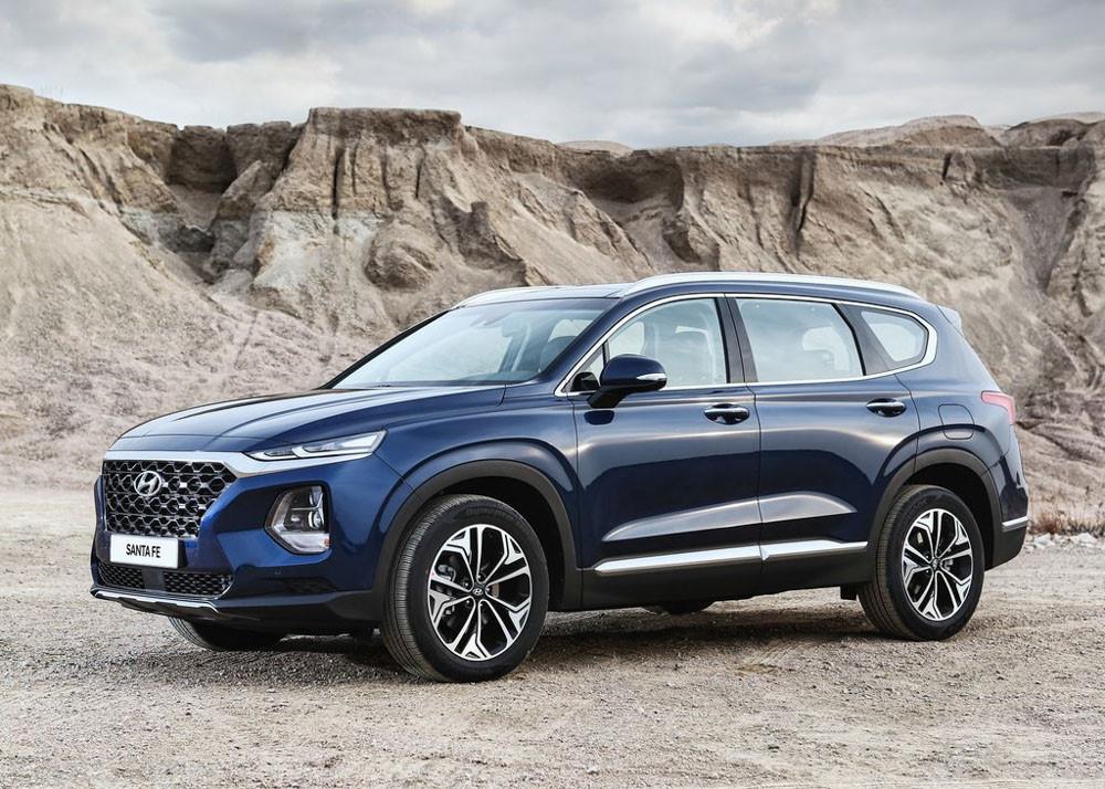 Hình Ảnh Hyundai SantaFe 2019 Hiện Đại Và An Toàn Hơn 21