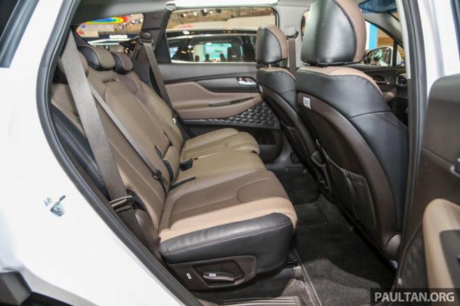 Hình Ảnh Hyundai SantaFe 2019 Hiện Đại Và An Toàn Hơn 5
