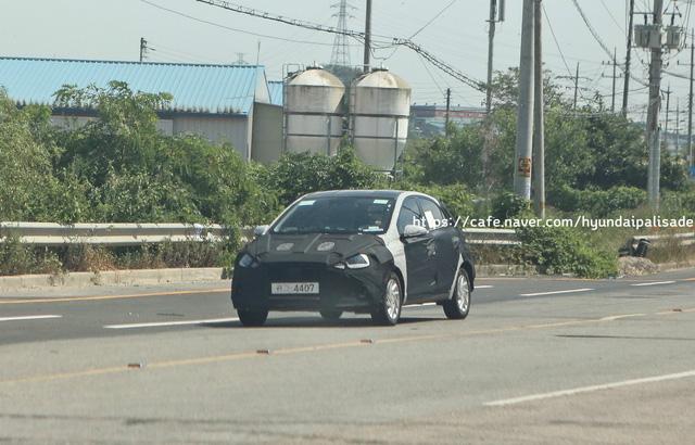 Hình Ảnh Hyundai i10 Phiên Bản Mới Năm 2019 Lộ Diện 1