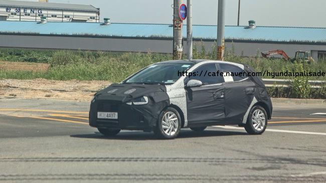 Hyundai i10 Phiên Bản Mới Năm 2019 Lộ Diện
