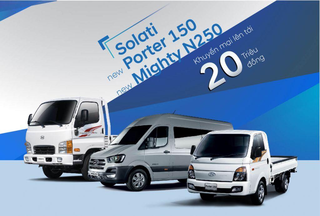 Hyundai Solati Và Hyundai Porter Khuyến Mãi Lên Đến 20 Triệu