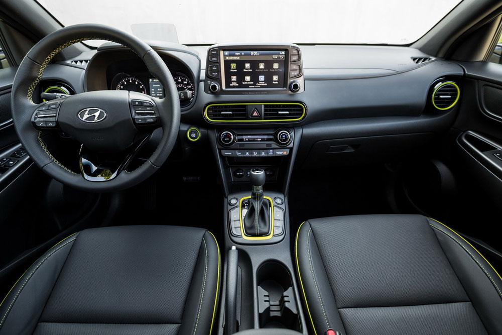 Hình Ảnh Hyundai Kona - Gầm Cao, Máy Thoáng Và Mạnh Mẽ 8