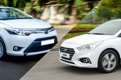 Mua Xe Hyundai Accent hay Toyota Vios?