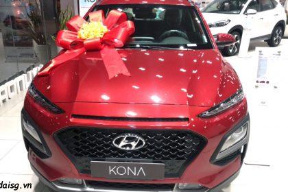 Hình ảnh Hyundai Kona  màu đỏ