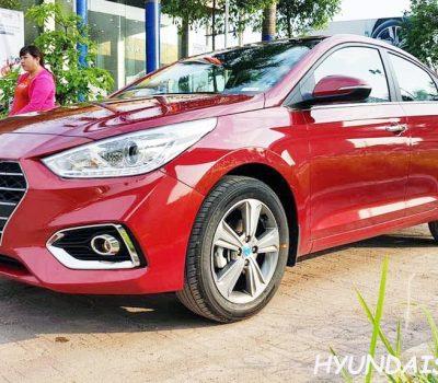 Hình Ảnh Hyundai Accent 2018 Đỏ