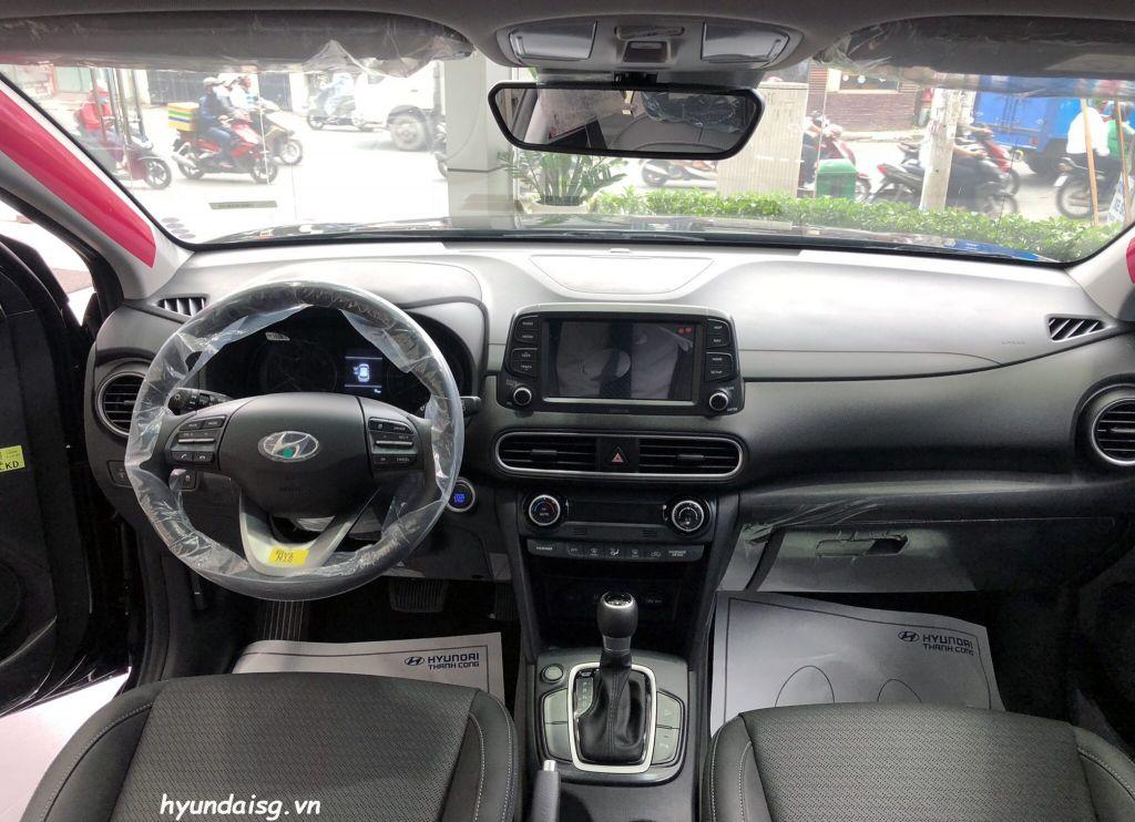 Hình Ảnh Hình Ảnh Xe Hyundai Kona Màu Đen 32