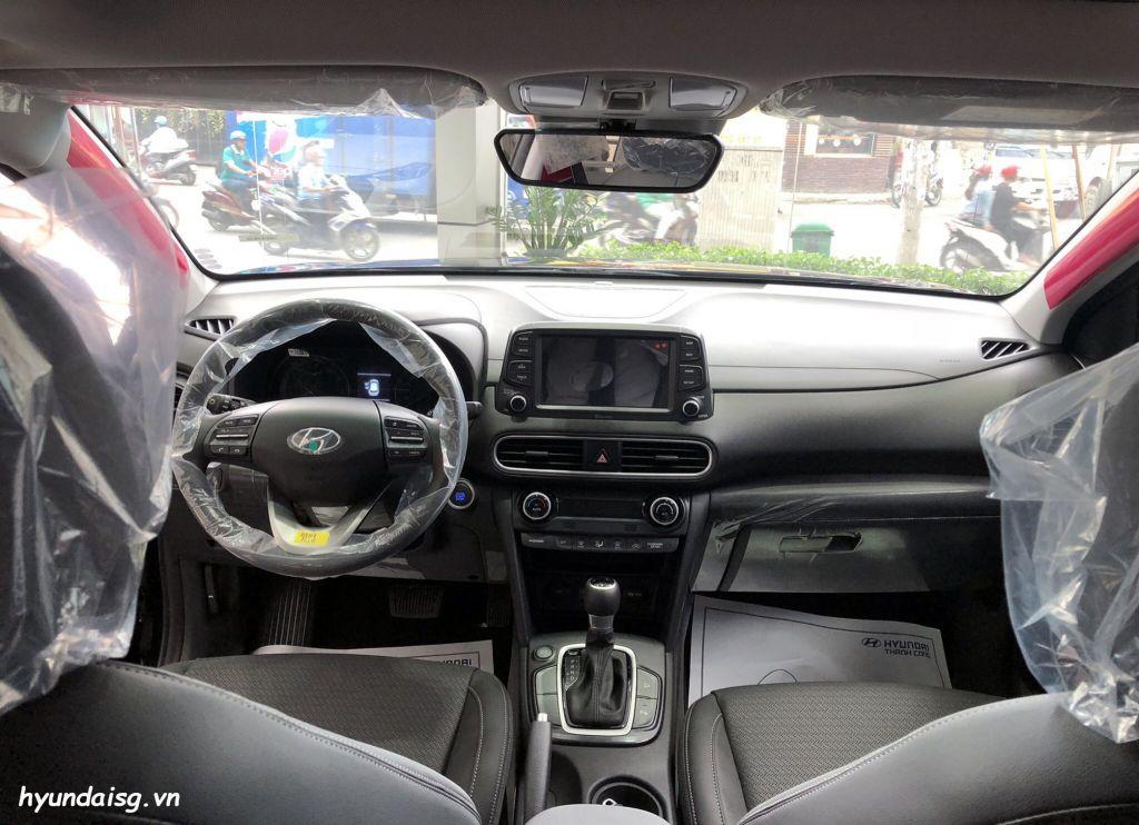Hình Ảnh Hình Ảnh Xe Hyundai Kona Màu Đen 35