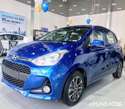 Hình Ảnh Hyundai Grand I10 Hatchback Xanh Dương