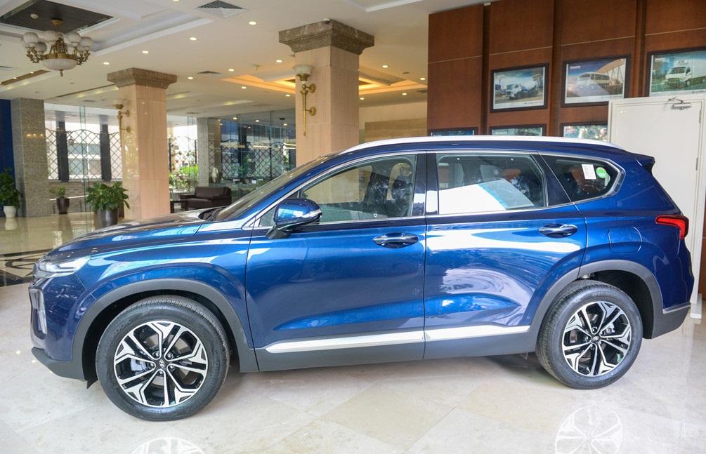 Hình Ảnh Hà Nội chào đón Hyundai SantaFe 2019 9