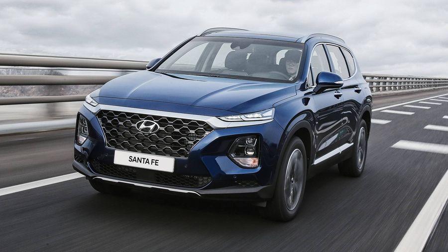 Hyundai SantaFe 2019 Cực Hot Sẽ Ra Mắt Trong Tháng 11 Tới!