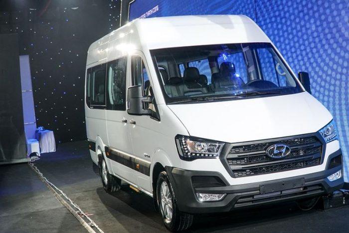 Hình Ảnh Ngoại hình Hyundai Solati hay Ford Transit hoàn hảo hơn 1