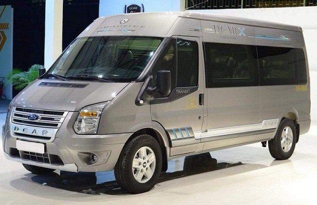 Hình Ảnh Ngoại hình Hyundai Solati hay Ford Transit hoàn hảo hơn 4