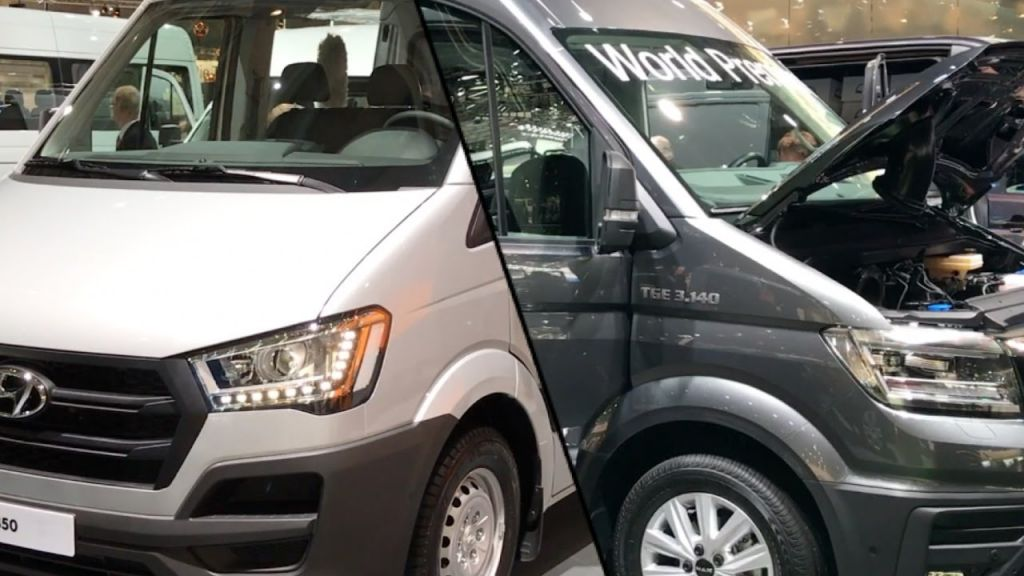 Nội thất của Hyundai Solati có hiện đại hơn Ford Transit