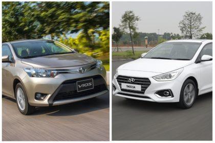 Sơ lược về Hyundai Accent và Toyota Vios