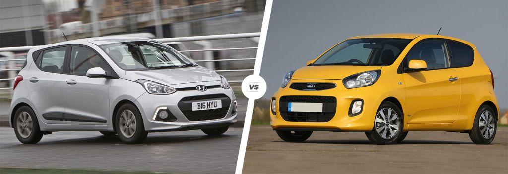 So sánh nhanh giữa Hyundai Grand i10 và Kia Morning