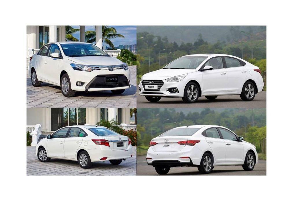 So sánh vận hành Hyundai Accent và Toyota Vios