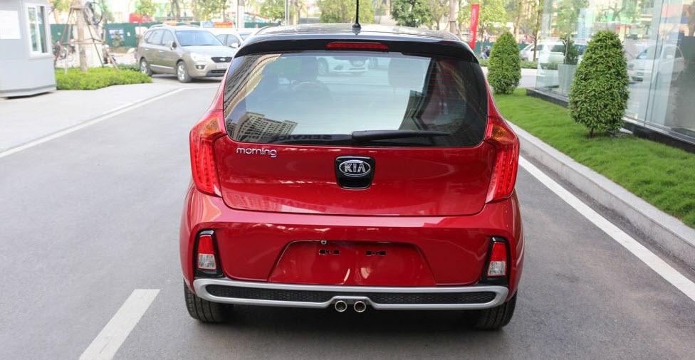 Hình Ảnh Thiết kế ngoại thất Hyundai Grand i10 2018 và Kia Morning 2018 4