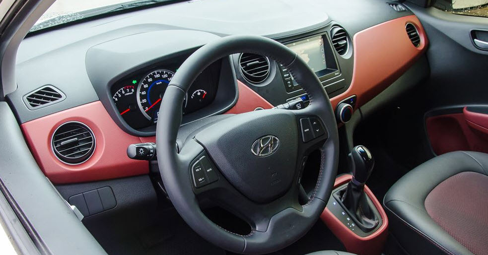 Hình Ảnh Thiết kế nội thất Hyundai Grand i10 2018 và Kia Morning 2018 8