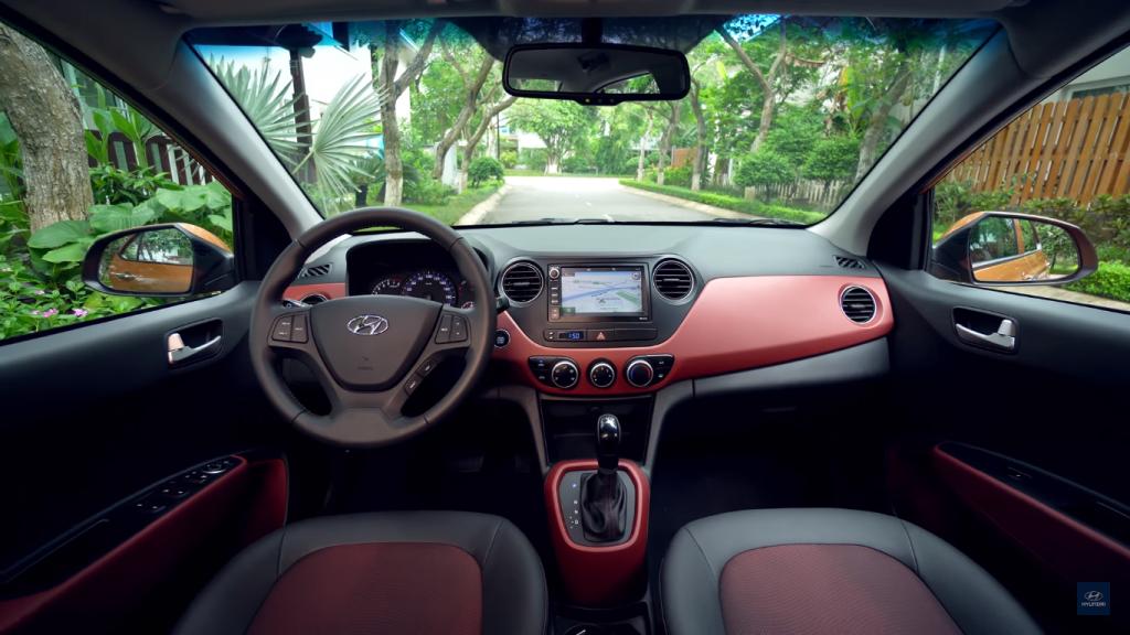Thiết kế nội thất Hyundai Grand i10 2018 và Kia Morning 2018