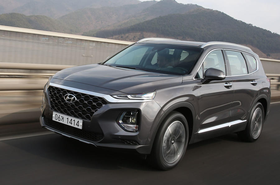 Hình Ảnh Thông tin cực nóng về Hyundai SantaFe 2019 3