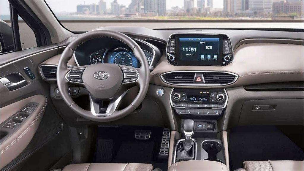 Hình Ảnh Thông tin cực nóng về Hyundai SantaFe 2019 12