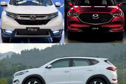 Hyundai Tucson Làm Nóng Phân Khúc Crossover Với Doanh Số Tăng Đến 34%