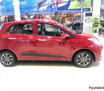Hình ảnh Hyundai Grand I10 Hatchback màu đỏ