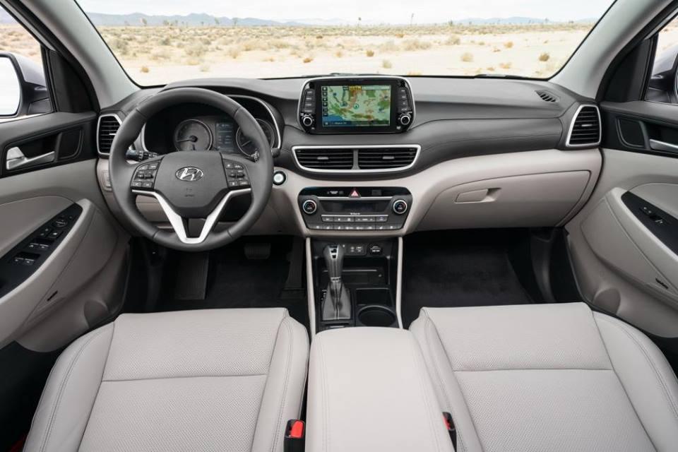 Hình Ảnh Hyundai Tucson 2019 với thiết kế mới đã có giá bán chính thức 9