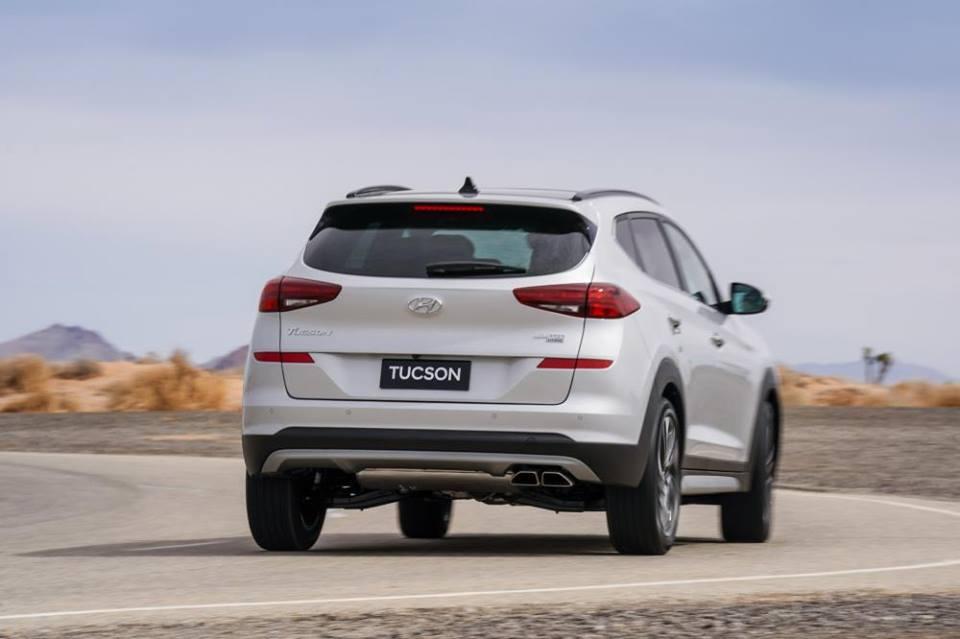 Hình Ảnh Hyundai Tucson 2019 với thiết kế mới đã có giá bán chính thức 8