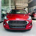 Hình ảnh Hyundai Grand I10 Sedan 2021 màu đỏ (số tự động)