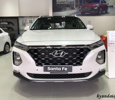 Hình ảnh Hyundai Santafe Đặc Biệt màu Trắng