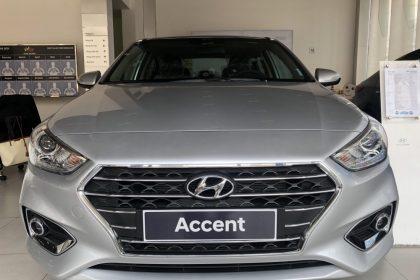 Hình ảnh Hyundai Accent 2019 Màu Bạc