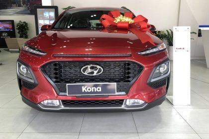 Hình ảnh Hyundai Kona phiên bản Đặc Biệt màu đỏ