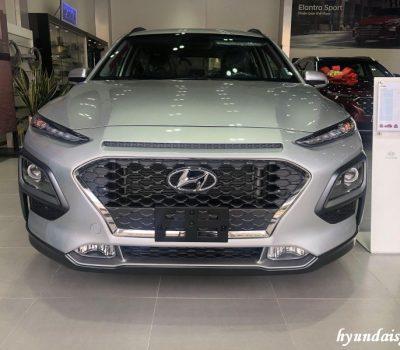 Hình ảnh Hyundai Kona Turbo màu Bạc