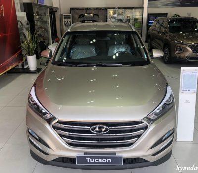 Hình ảnh Hyundai Tucson Tiêu chuẩn màu vàng be