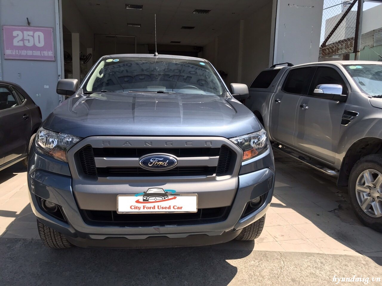 Ford Ranger 2.2 MT – 2016 Màu xanh