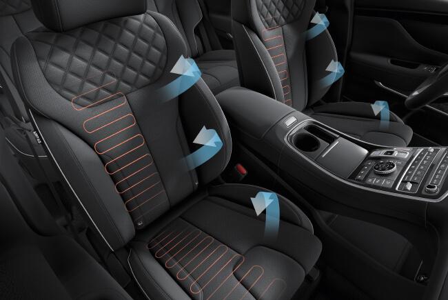 Hình Ảnh Hyundai SantaFe 2021 98