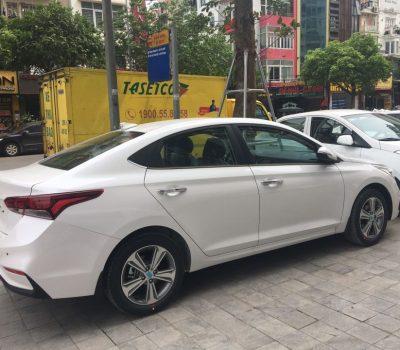Hình Ảnh Hyundai Accent Trắng  Mới