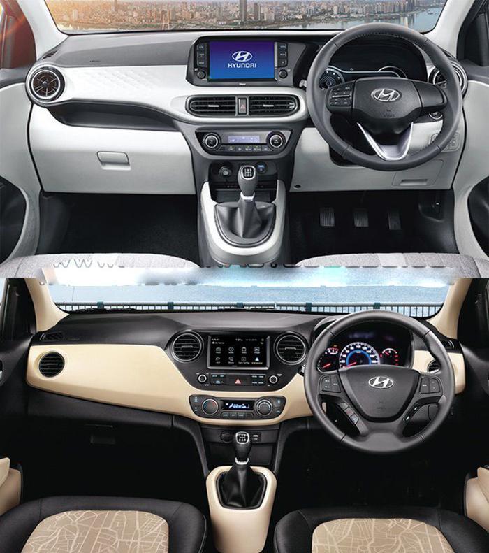 Hình Ảnh So Sánh Hyundai Grand i10 2020 với phiên bản cũ 14