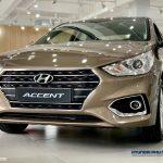 Hình ảnh Hyundai Accent AT 2019 màu vàng cát