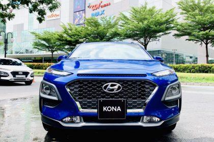Hình ảnh Hyundai Kona 1.6 Turbo xanh dương