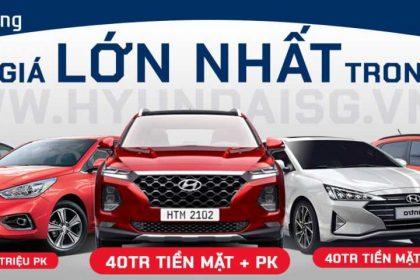 Khuyến Mãi Mua Xe Hyundai T1/2020, Giá Kịch Sàn