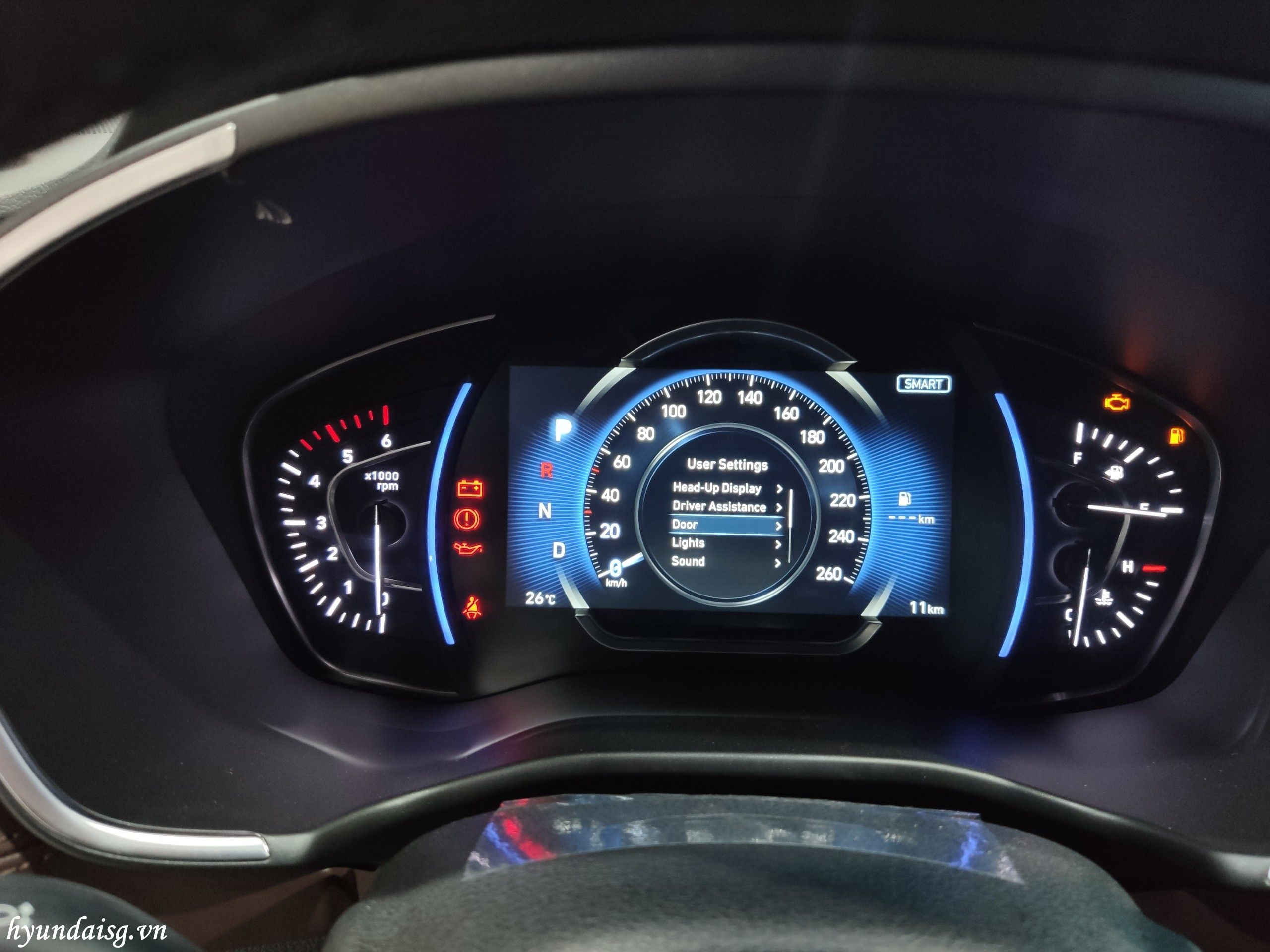 Hình Ảnh Hướng dẫn sử dụng xe Hyundai Santafe cho người mới 38