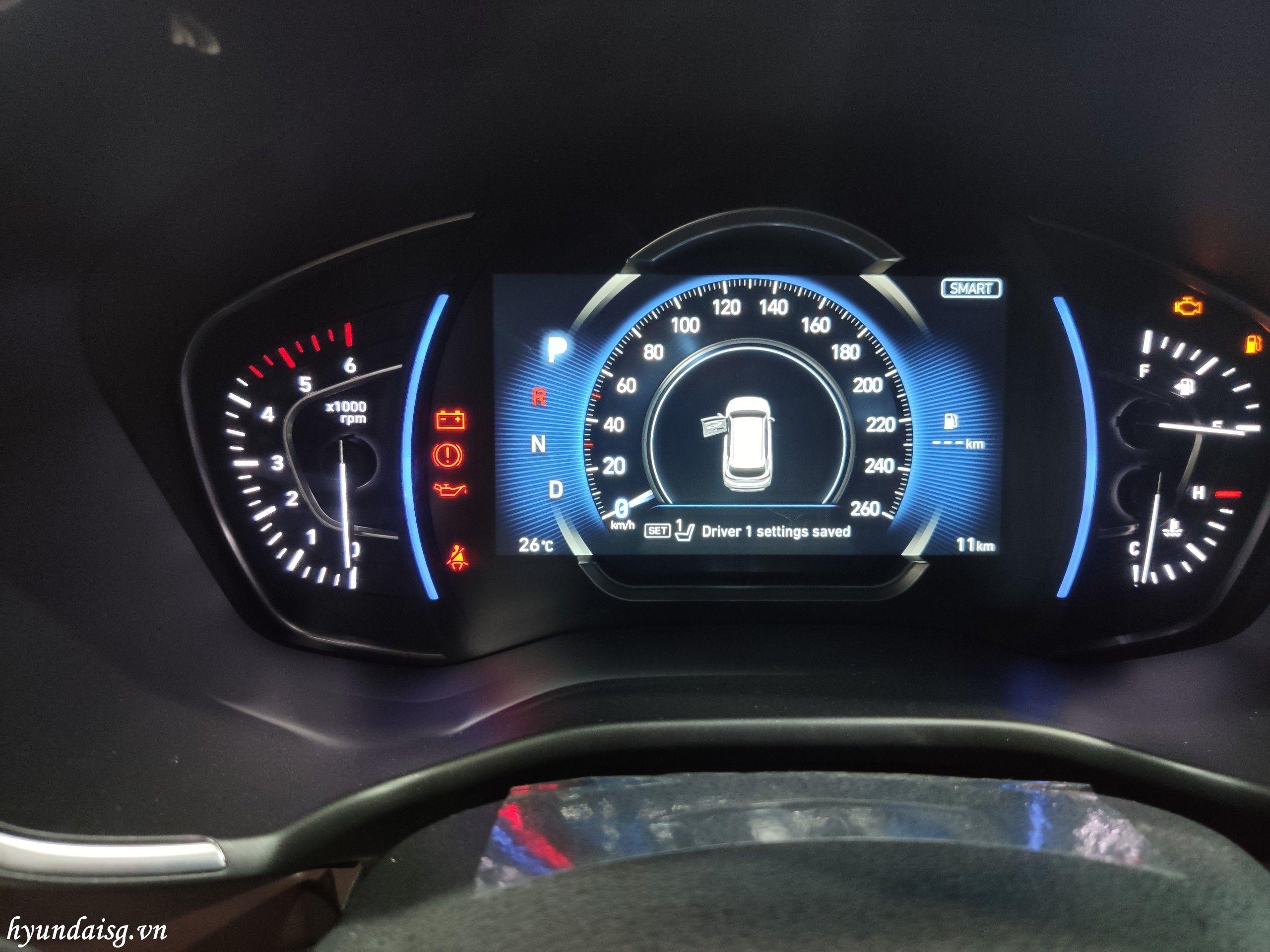 Hình Ảnh Hướng dẫn sử dụng xe Hyundai Santafe cho người mới 35