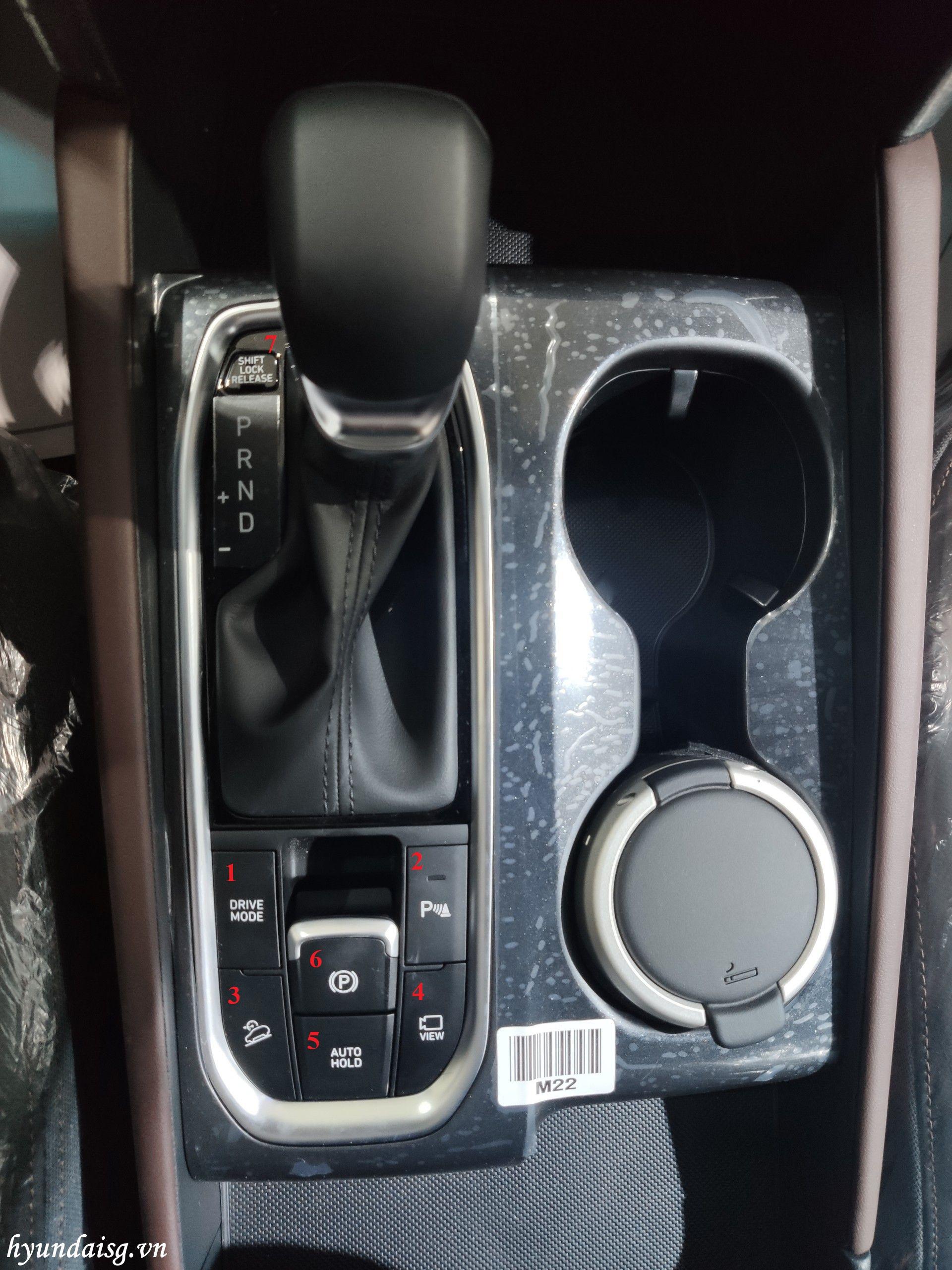Hình Ảnh Hướng dẫn sử dụng xe Hyundai Santafe cho người mới 24